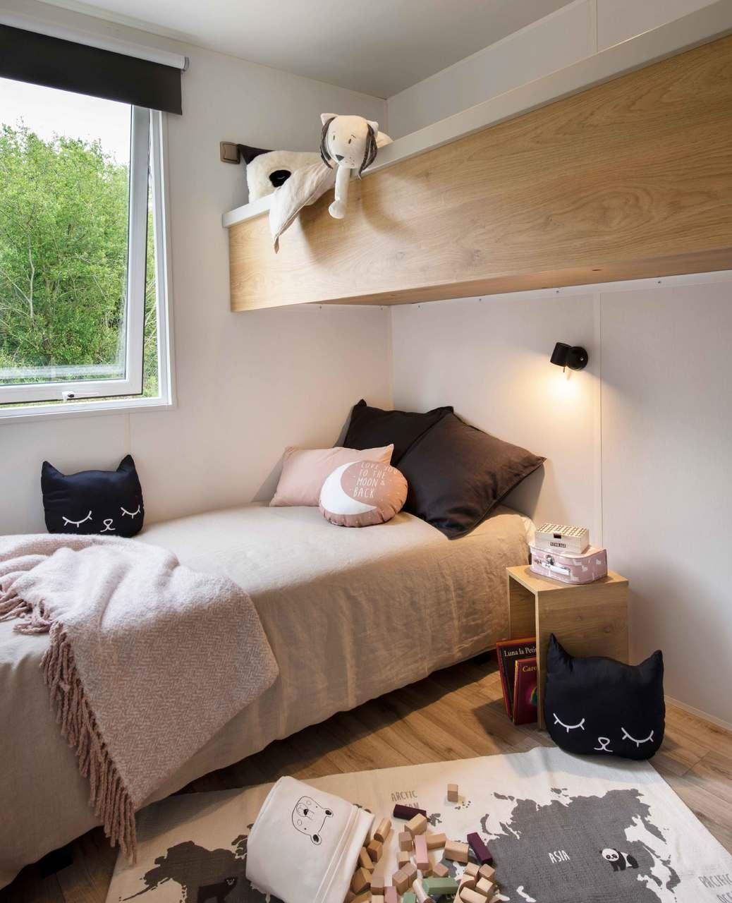 Mobil-home 3 chambres 884 3ch - Côté jardin 5