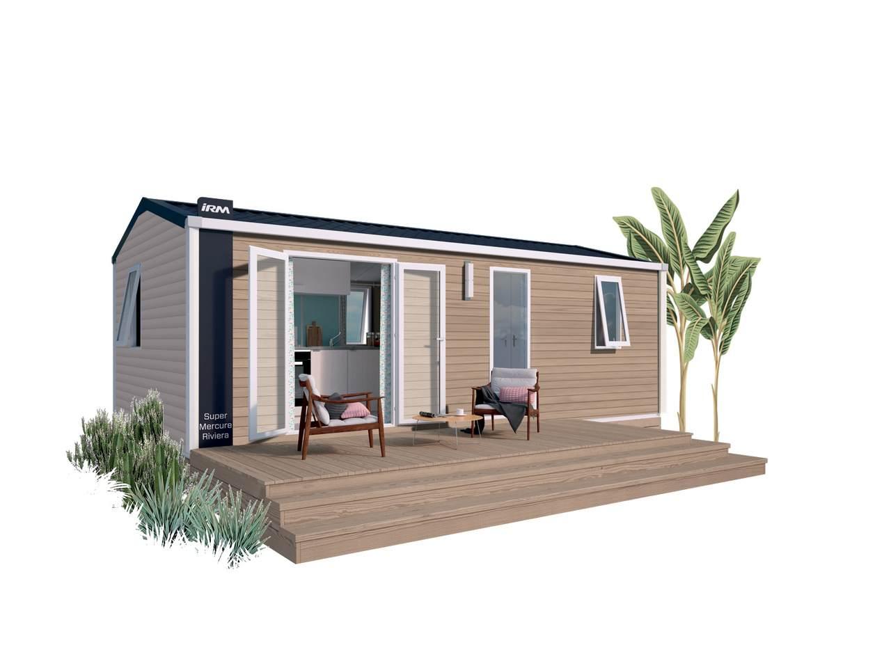 Casa prefabricada SUPER MERCURE RIVIERA - 2 habitaciones | IRM para profesionales