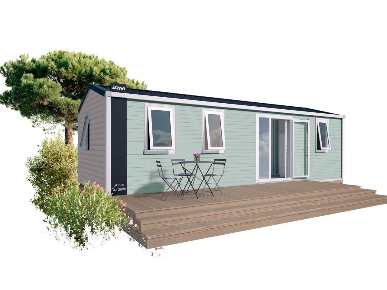 Mobile home SUPER CORDELIA - 3 bedrooms | IRM for professionals
