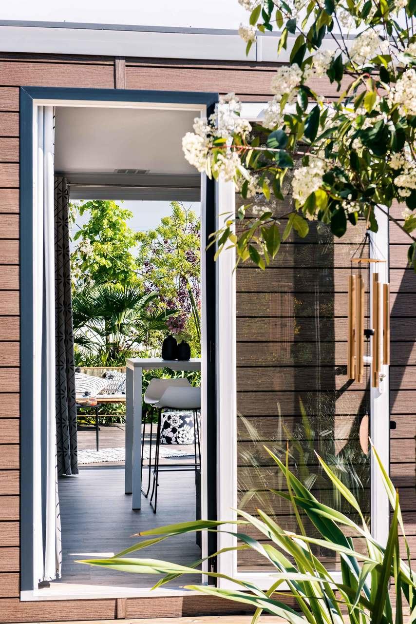 Mobil-home 3 chambres 884 3ch - Côté jardin 2