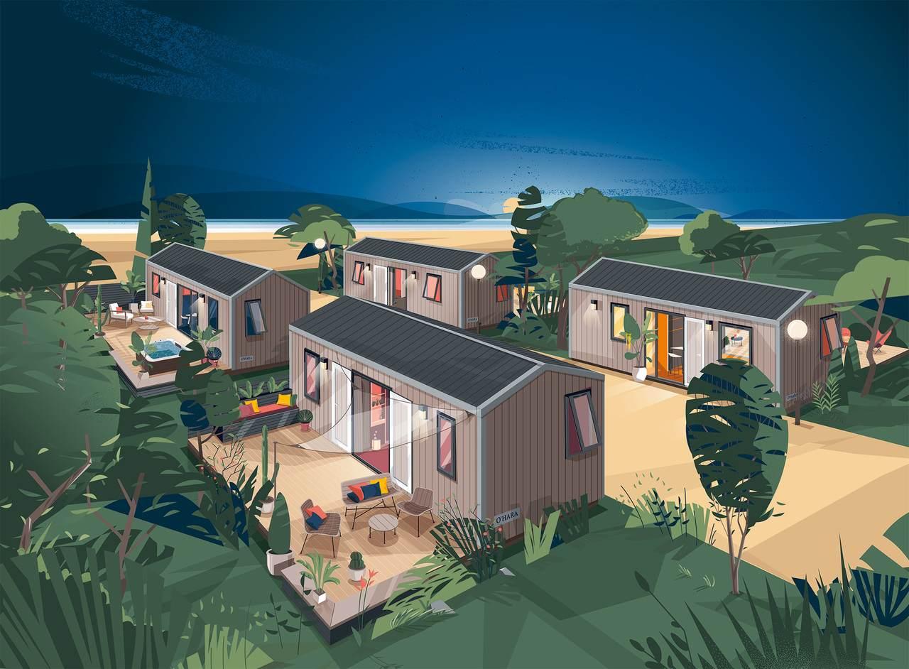 « Côté jardin » : source d'inspiration en matière d'hébergement de loisirs