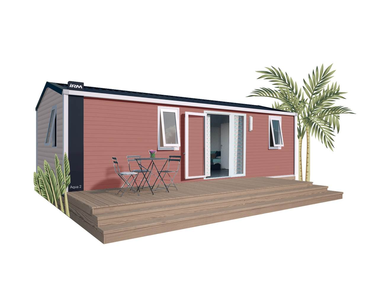 Mobile home AQUA 2 - 2 bedrooms | IRM for professionals