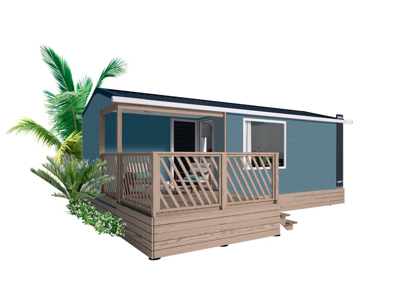 Mobile home LOGGIA 2 - 2 bedrooms | IRM for professionals