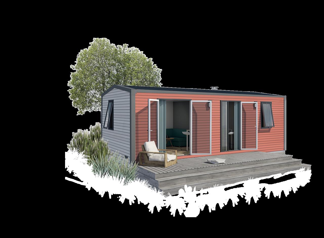 Mobil-home 2 dormitorios 844 2hab 1